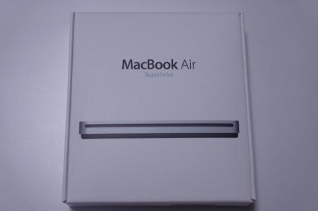 今さら!?「MacBook Air SuperDrive」を買ってみた