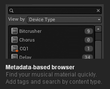 Metadata based browser