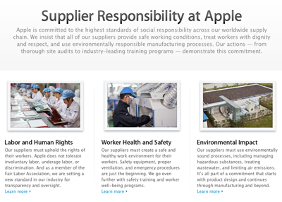 Supplier Responsibility Report sh