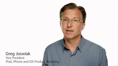 Greg joswiak apple vice president