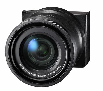 リコー、「GXR」の新カメラユニット「RICOH LENS A16 24-85mm F3.5-5.5」発表