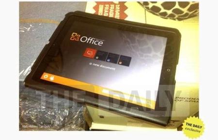 「Office for iPad」が間もなくApp Storeに登場!?