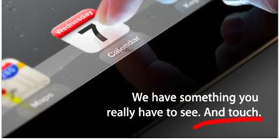 次世代「iPad」には、「高度な触覚フィードバック技術」が搭載!?