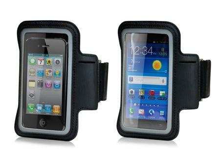 フォーカルポイント、iPhoneなどでも使える反射素材付きアームバンド付きアクティブケース「JOGJACKET for Smartphones」を発売。