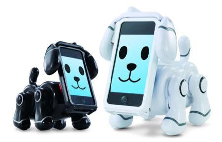 バンダイ、iPhoneが顔になる次世代ペットロボット「スマートペット」を4月28日に発売