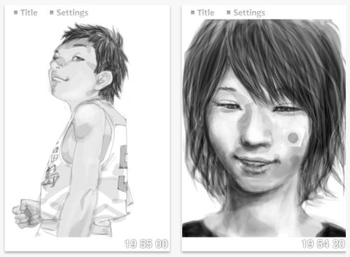 あの日から1年。井上雄彦氏が公式iOSアプリ「Smile by Inoue Takehiko」リリース