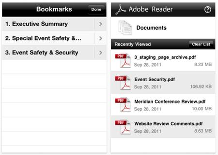 iOSアプリ「Adobe Reader」がアップデート、PDFにコメントなど追加可能に