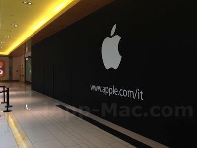 Apple store porta di roma barrier
