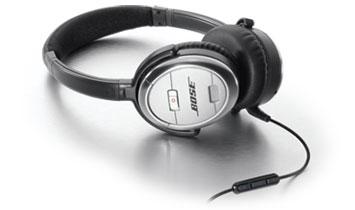 ボーズ、iPhoneに対応したノイズキャンセリング・ヘッドホン、「QuietComfort 3 Acoustic Noise Cancelling headphones」を発売