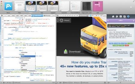 Webサイト制作アプリ「Coda 2」がMac App Storeでリリース