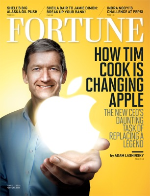 Tim cook cover fortune