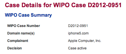 Wipo iphone5com