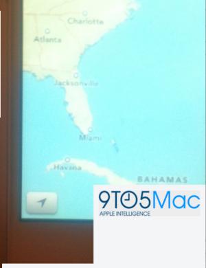 Ios 6 maps iphone redacted