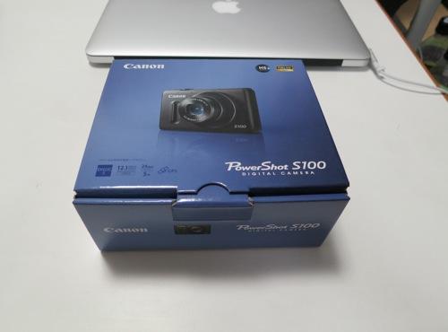 Canonのコンパクトデジカメ「PowerShot S100」を購入してみた