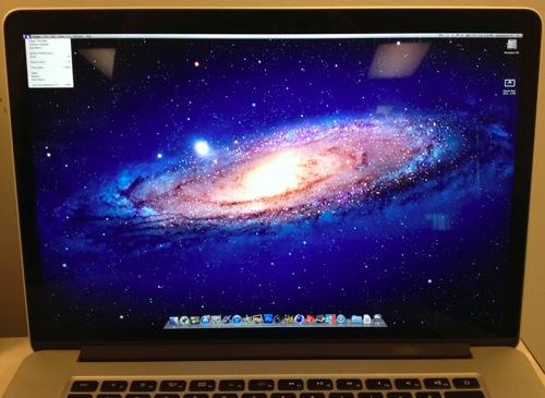 「MacBook Pro Retinaディスプレイモデル」をフル解像度(2880x1800)で表示させる