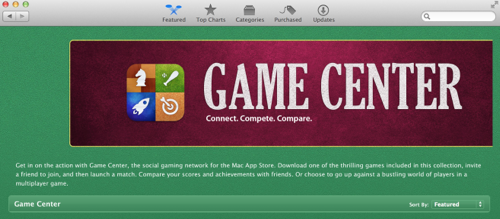 Macappsoter gamecenter