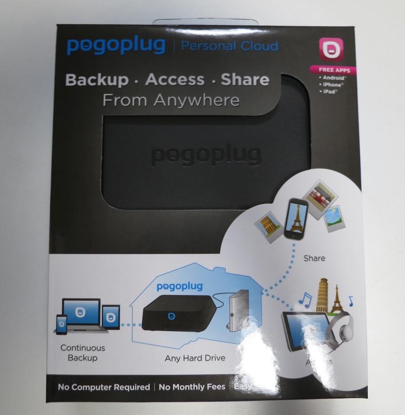 Pogoplug Familyブロガーミーティングでもらった「Pogoplug Mobile」をチェック