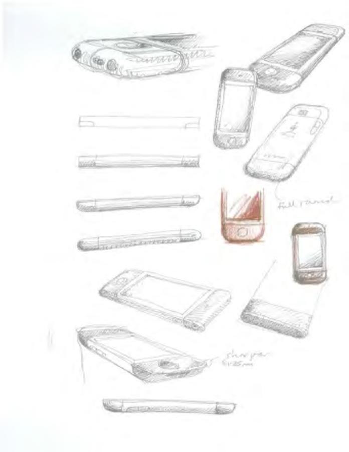 「iPhone」「iPad」のプロトタイプデザインの数々