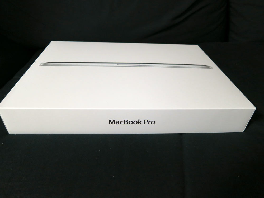 「MacBook Pro with Retina display」を購入、チェックしてみた