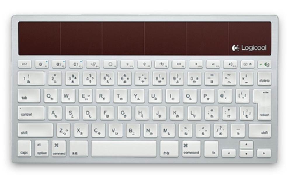 Wireless solar keyboard k760 glamour image lg lc