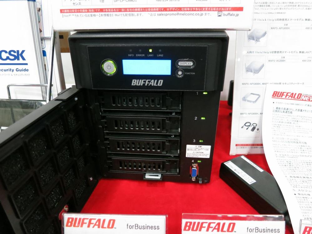 「Mac isLand 2012」レポート:BUFFALO展示ブース、Wi-FI搭載ポータブルHDD「HDW-P500U3」などを展示