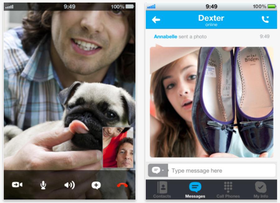 Skype、iPhone版、iPad版「Skype」をアップデートし、写真の送受信が可能に