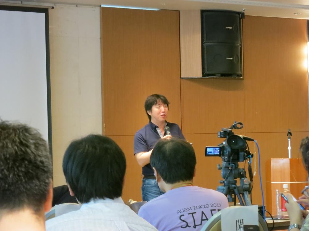 AUGM東京2012レポート・ITジャーナリスト林信行氏のキーノートスピーチ