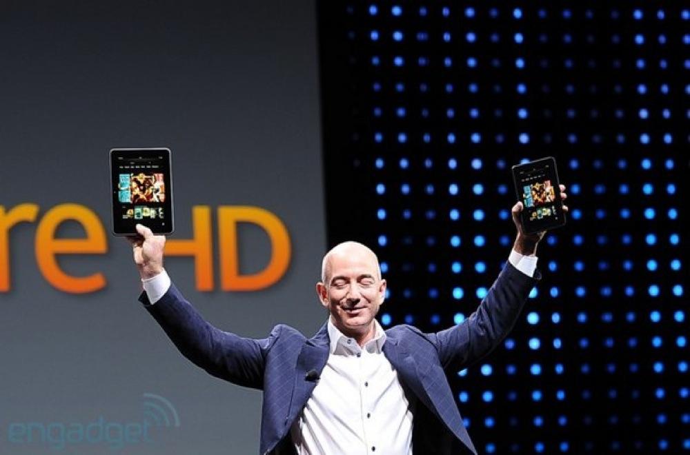 Amazon、8.9インチディスプレイを搭載した「Kindle Fire HD」を発表