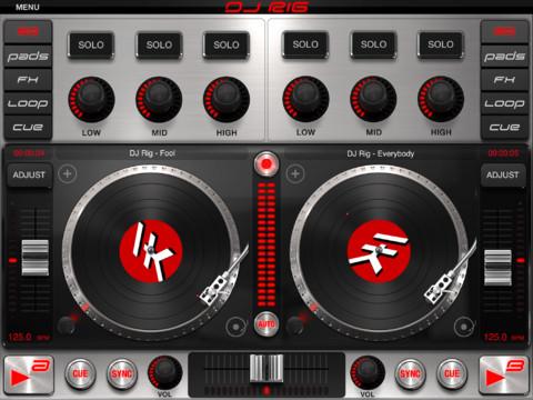 IK Multimedia、DJアプリ「DJ Rig for iPad」リリース