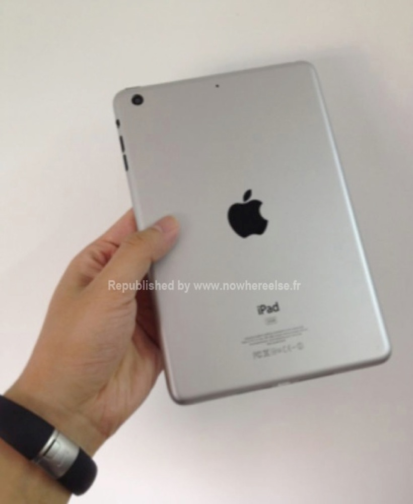 Ipad mini mockup hand back