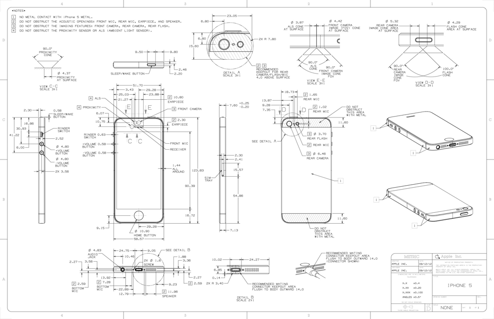 Iphone 5 schematics  1