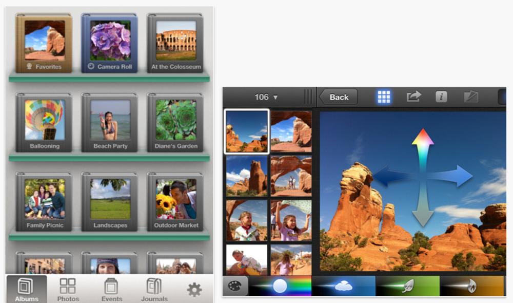 Apple、iOSアプリ「iPhoto 1.1」リリース