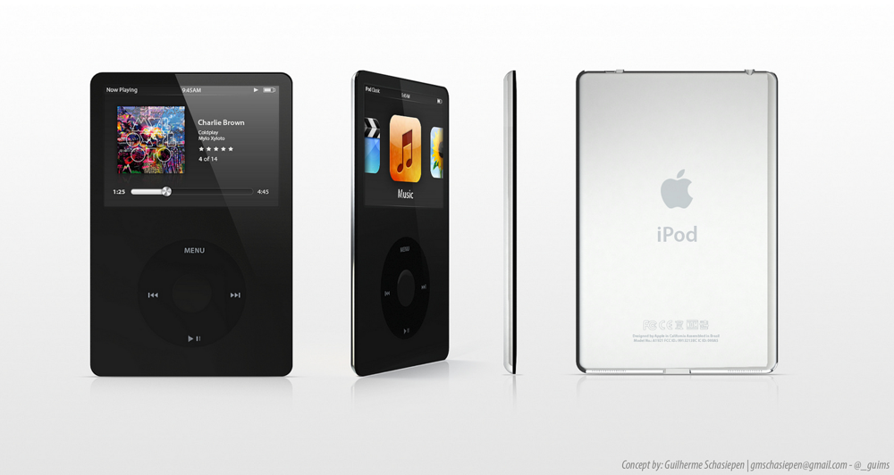 Ipodclsssic concept