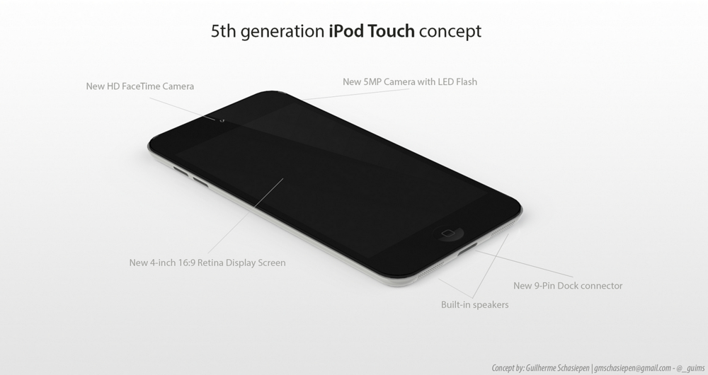 Ipodtouch concept