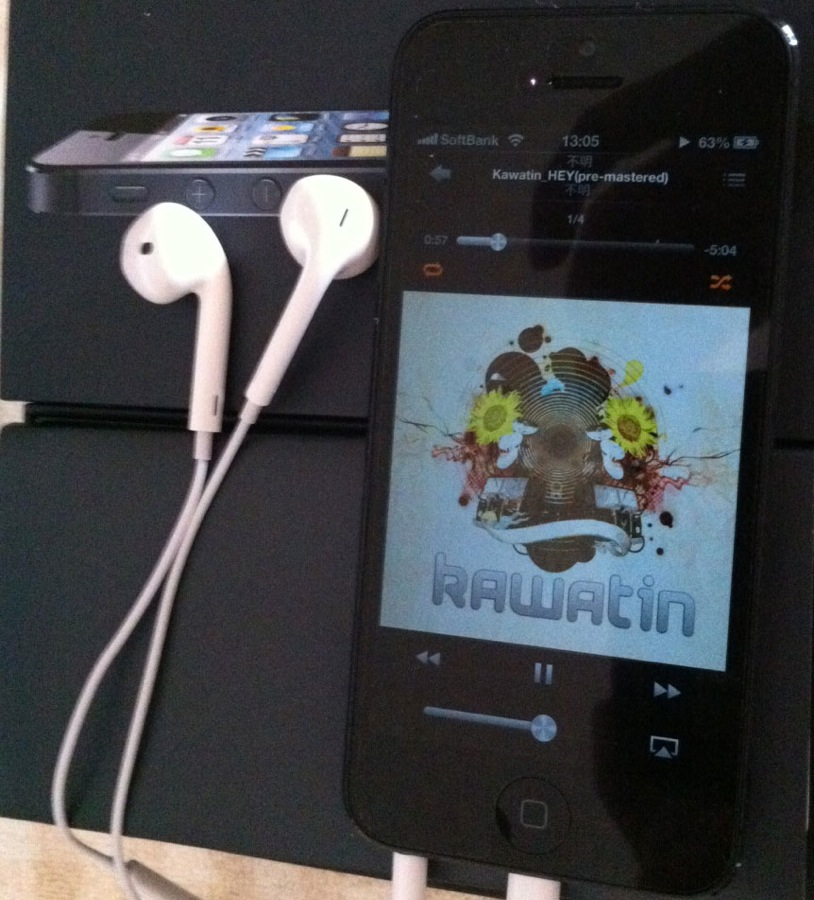 Appleの新しいヘッドフォン「EarPods」を試してみた