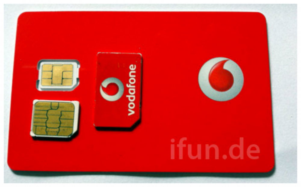 ドイツのVodafoneにも「nano-SIM」が届いている