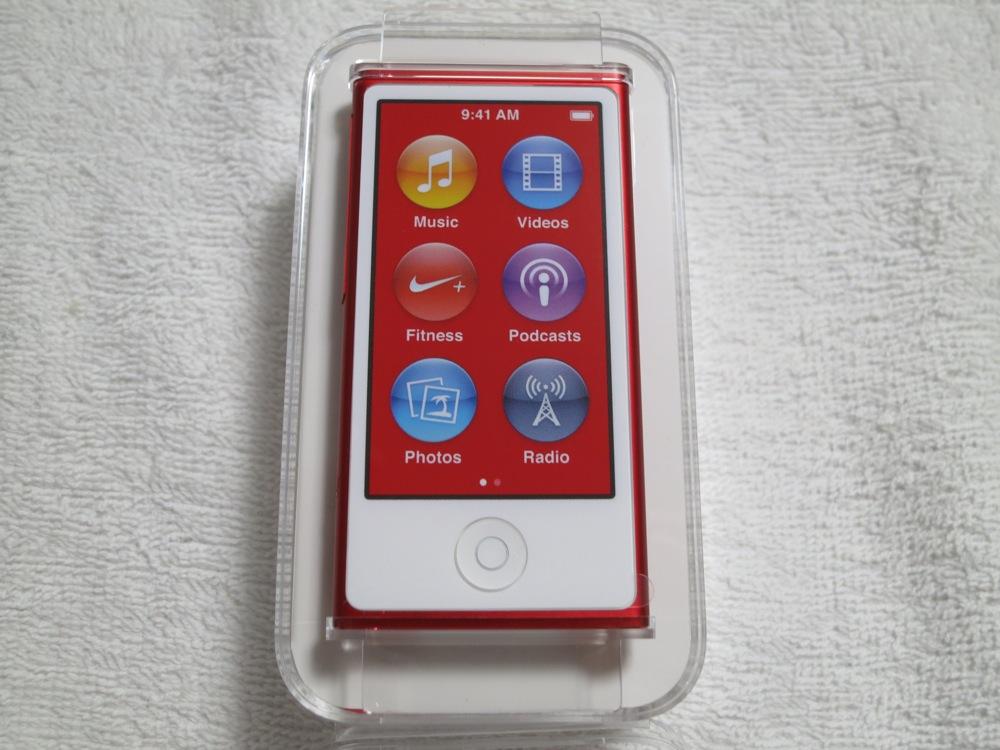 「iPod nano (PRODUCT) RED(第7世代)」レビュー