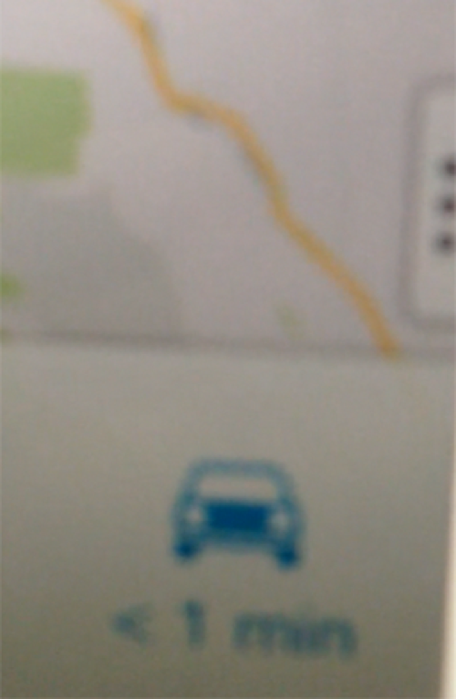 Googlemaps iphone 1