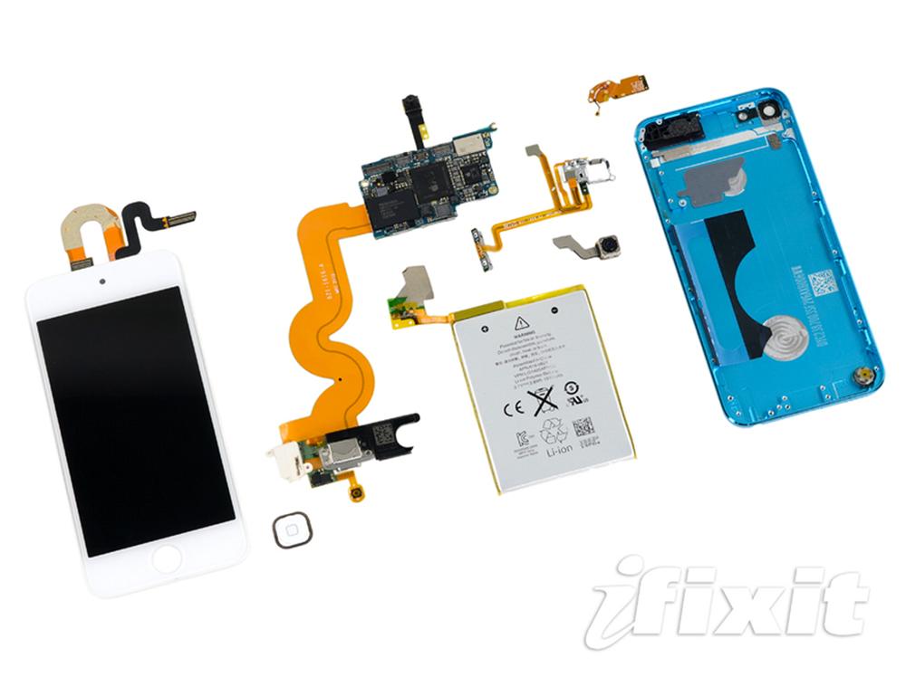 iFixit、「iPod touch(第5世代)」のバラシレポートを公開
