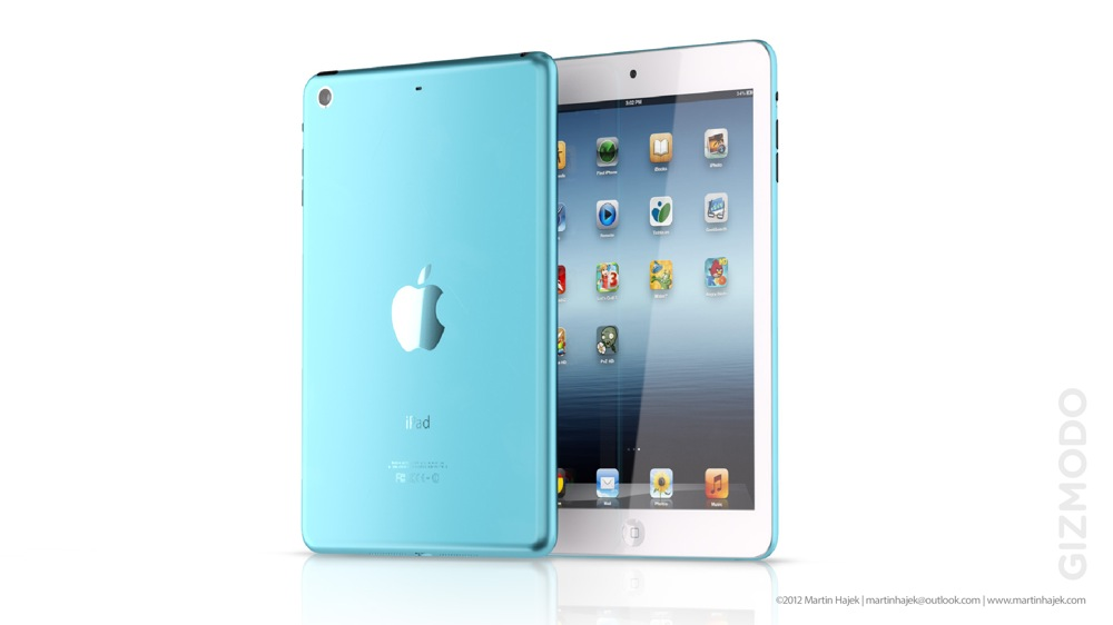 Ipadmini renda blue