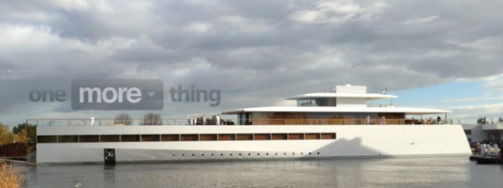 Steve Jobs氏のヨット、一時的な合意により航行が可能に