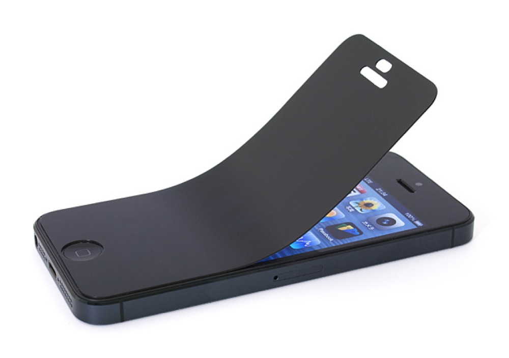 パワーサポート、「プライバシーフィルムセット for iPhone5」の予約受付開始
