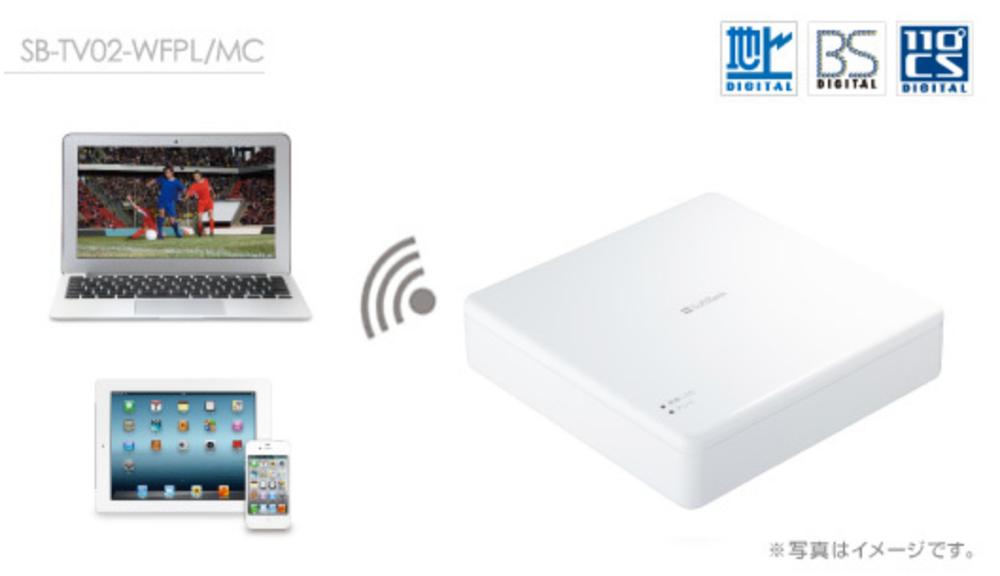 SoftBank SELECTION、「デジタルTVチューナー for Mac/iPad/iPhone」を10月19日から販売開始