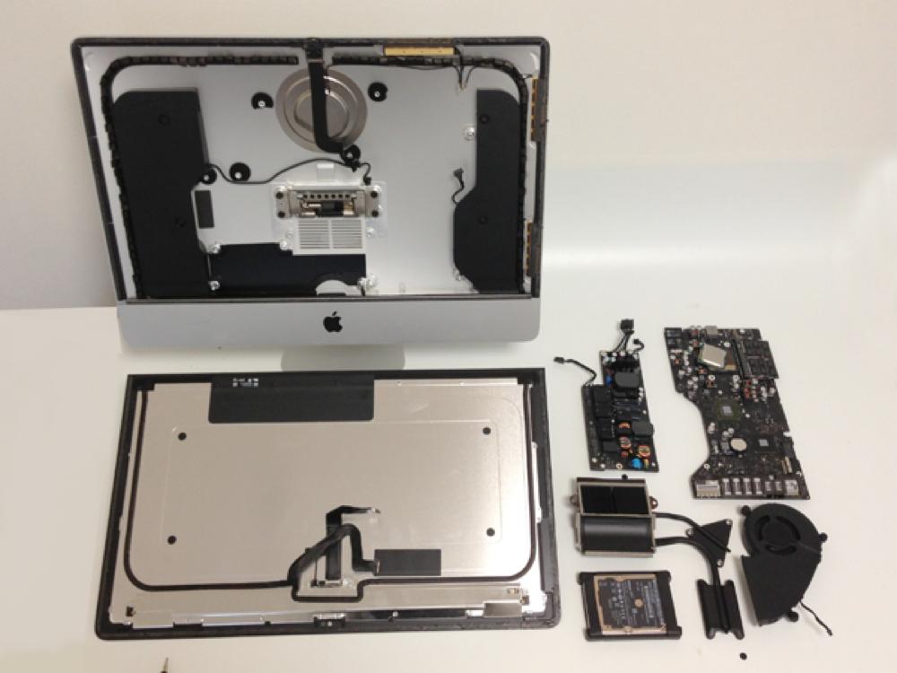 KODAWARISAN、21.5インチ「iMac(Late 2012)」のバラシレポートを掲載