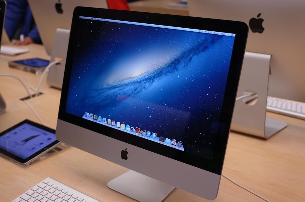 21.5インチ「iMac (Late 2012)」の実機チェック