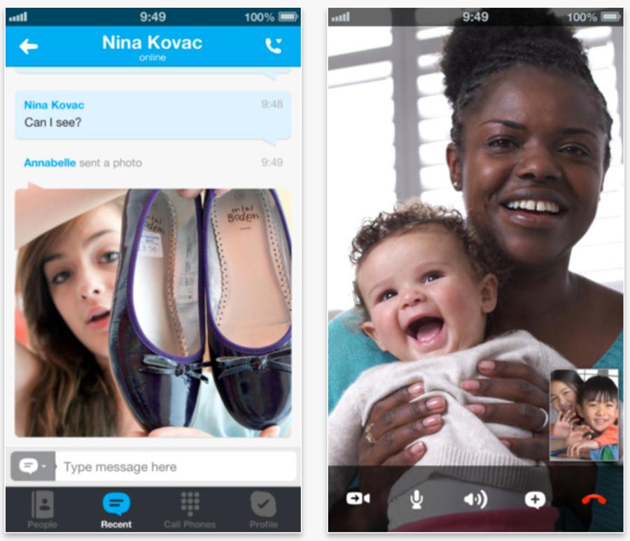 Skype、致命的なバグを修正したiOSアプリ「Skype 4.2.1」リリース