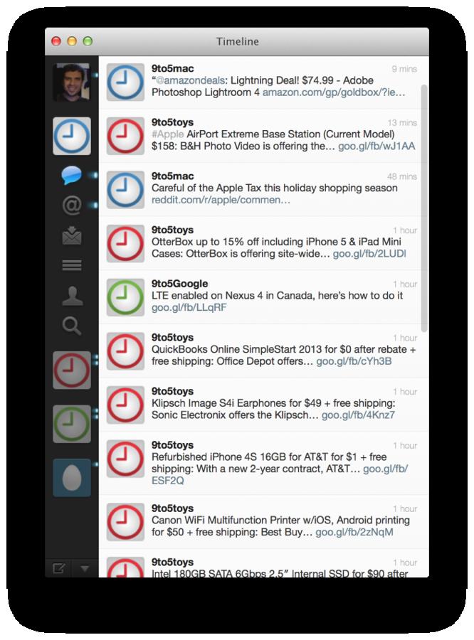 Mac版Twitter公式アプリのRetinaディスプレイ対応版をデベロッパーが開発