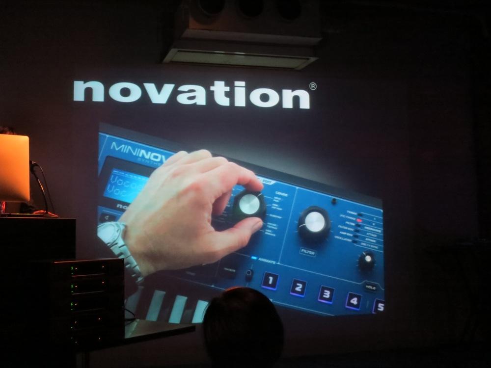 High Resolution新製品内覧会 2012レポート:novation「MININOVA」を紹介