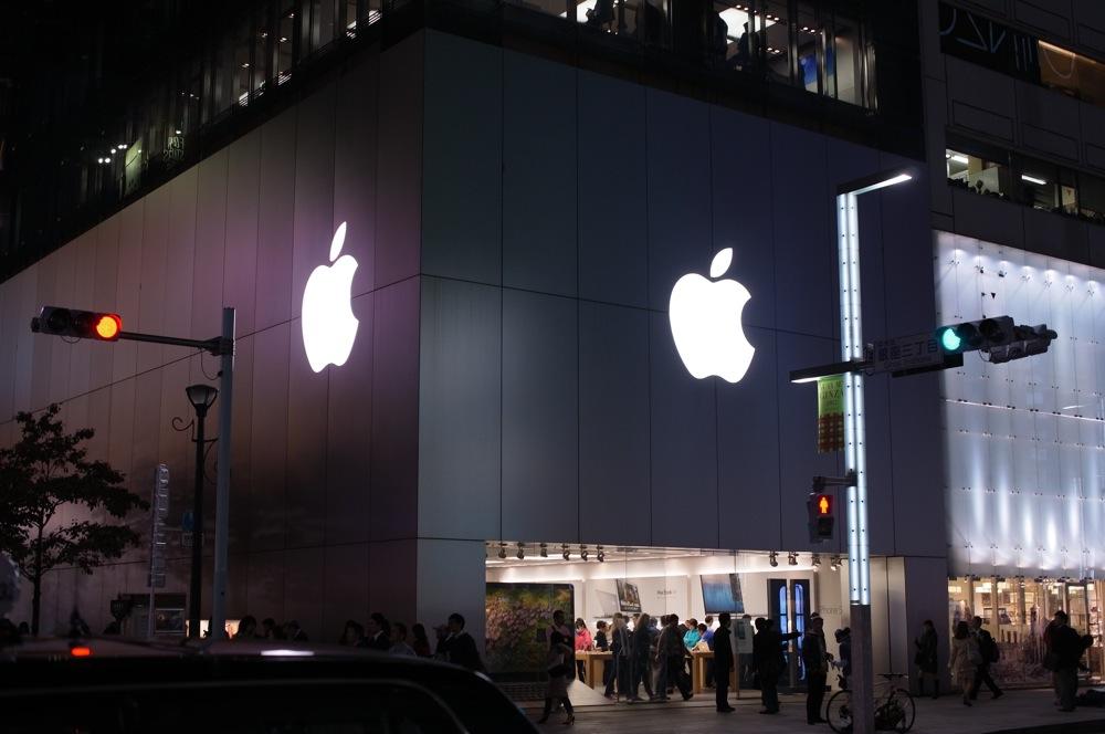 Apple Store, Ginza、「iPad mini」「iPad(第4世代)」発売前日レポート