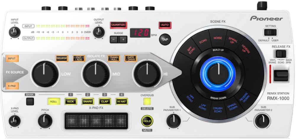 Pioneer、REMIX STATIONに新カラー、パールホワイトモデルを発売